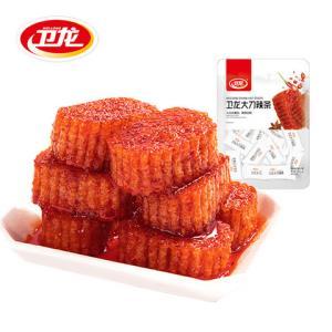 weilong卫龙大刀辣条200gx2袋 16.8元(需用券)