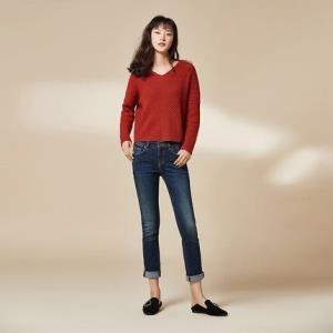 YANXUAN网易严选女士基础修身直脚牛仔裤 99.5元