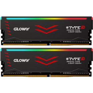 光威(Gloway)16GB(8Gx2)套装DDR43200频率台式机内存条TYPE-β系列-严选颗粒/RGB灯条 599元