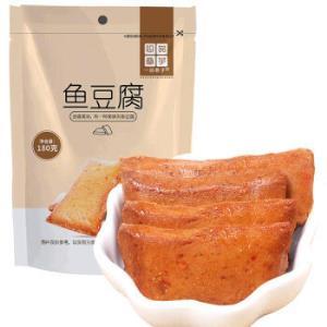 一品巷子豆腐干鱼豆腐180g/袋*15件 102.5元(合6.83元/件)