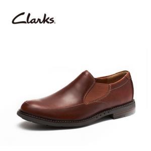 clarks其乐正装男鞋优跃系列英伦UnelottStep舒适套脚皮鞋男709元