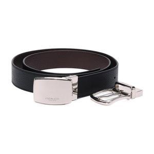COACH蔻驰男士简约双面板扣/针扣可替换扣头腰带皮带礼980.81元(需用券)