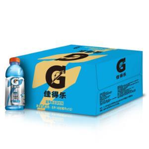 佳得乐GATORADE蓝莓味运动饮料400ml*15瓶*2件