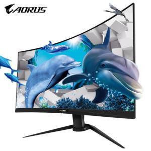 GIGABYTE技嘉AORUSCV27F27英寸显示器(1500R、165Hz、1ms)