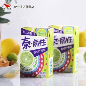 统一 泰魔性 台式柠檬茶 250ml*16盒 真茶真柠檬  线下3.5元/盒32.9元包邮