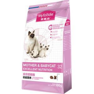 麦富迪优能奶糕粮1-4个月幼猫500g19元