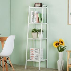 心家宜(SINGAYE)四层书架简易书柜客厅卧室家用置物架象牙白98480W 79.95元