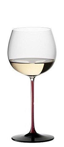 Riedel醴铎御用Sommeliers系列蒙哈榭白葡萄酒杯黑红色1098.56元