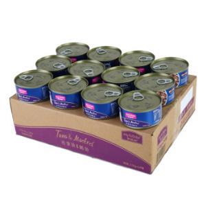 麦富迪猫湿粮猫罐头猫咪罐头拌食吞拿鱼鲭鱼味170g*24整箱装45元