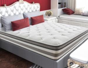 喜临门床垫白色恋人3D椰棕高纯度进口乳胶床垫丝滑天丝面料高筒独袋静音弹簧25cm 2999元