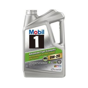 Mobil美孚1号AFE0W-20SN5Qt美国原装进口4.73升(含税)*2件 424.73元(合212.37元/件)