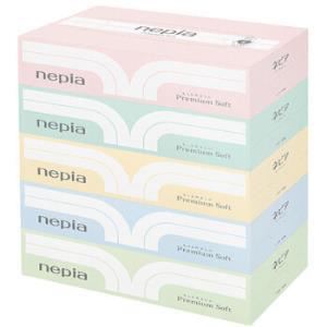 妮飘(nepia)premiumsoft精选柔滑盒装面巾纸180抽*5盒(日本原装进口)*3件 64.8元(合21.6元/件)
