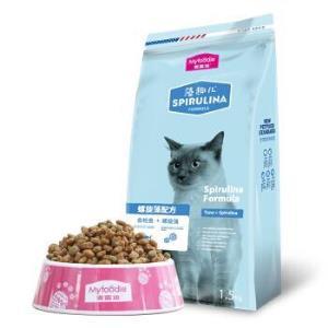 麦富迪藻趣儿成猫粮金枪鱼味1.5kg*4件90元包邮(合22.5元/件)