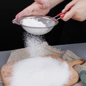 维莱雅面粉筛304不锈钢烘焙工具--60目2.9元(需用券)