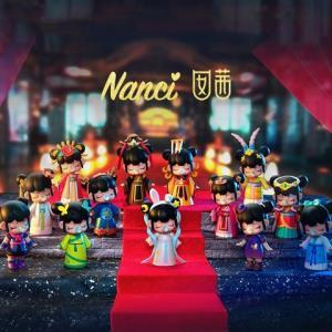 若态Nanci囡茜古代女子手办娃娃盲盒随机单款 59元