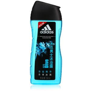adidas阿迪达斯冰点男士沐浴露250ml*2件 23元(合11.5元/件)