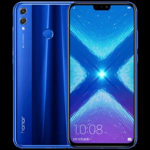 华为(HUAWEI)荣耀8X手机全面屏全网通魅海蓝6GB64GB高配版1299元