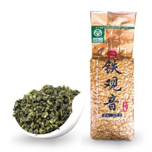 绿色食品认证一农特级浓香型安溪铁观音250g/袋乌龙茶茶叶福建茗茶48.3元