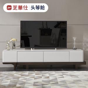 芝华仕现代简约储物钢化玻璃烤漆实木电视柜PT0021699元