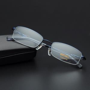 精工H01061男半框纯钛眼镜框369元(需用券)