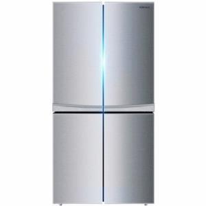 KONKA康佳BCD-330L4GY330L十字对开门冰箱1599元