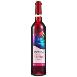 长城(GreatWall)红酒玫瑰红甜型葡萄酒750ml*2件62.4元(合31.2元/件)