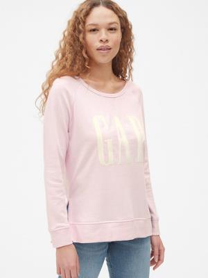 女装|Logo徽标毛圈布刺绣套头长袖运动衫*2件216元(合108元/件)