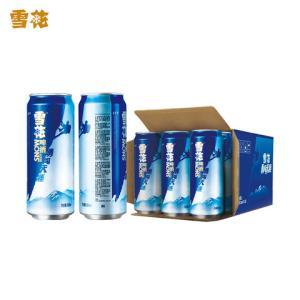 雪花啤酒勇闯天涯8度500mL*12罐整箱装53.9元