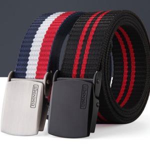 单面镜帆布腰带110-140cm塑料扣头