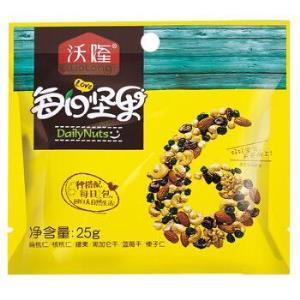 沃隆每日坚果混合坚果零食什锦果仁儿童B款175g/盒72元