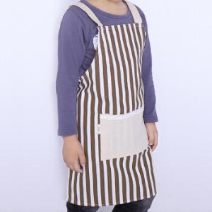 利得儿童围裙棉麻无袖罩衫画画吃饭亲子围裙*10件49元(合4.9元/件)