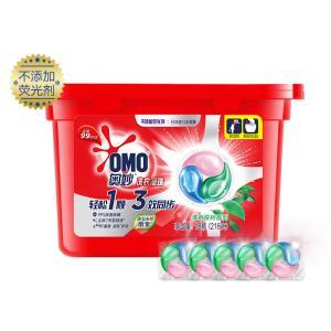 OMO 奥妙 酵素三合一除菌除螨 洗衣凝珠 18颗*3¥104.85