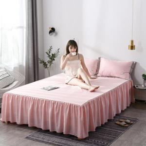 移动端:朴依家纺水洗真丝床裙三件套98元(需用券)