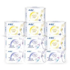 ABC特薄棉柔10包日夜用 49.9元