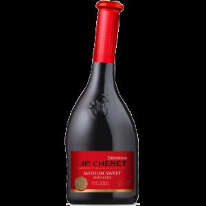 香奈法国原装进口红酒香奈JP.CHENET甜蜜半甜型红葡萄酒750ml*2件140.8元(合70.4元/件)