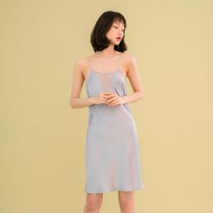 MAYGA真丝睡衣春夏性感丝滑吊带裙161.1元