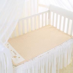 移动端:良良liangliang凉席苎麻婴儿凉席宝宝婴儿凉席(加大)凉而不冰125*74cmLLB01米咖LLB01-2C+凑单品95.45元