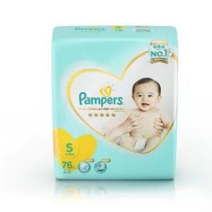 Pampers帮宝适一级系列婴儿纸尿裤S76片 81.25元包邮