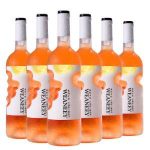 天使之手莫斯卡托甜白葡萄酒750nl*6支198元包邮(需用券)