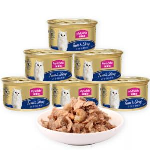 麦富迪宠物猫粮猫湿粮85g*12*5件240元(合48元/件)