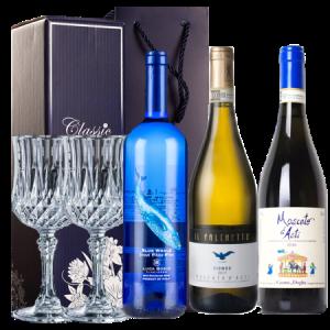 蓝海之鲸莫斯卡托甜起泡白葡萄酒共3瓶278元