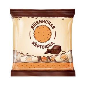 KDV俄罗斯糖果进口土豆泥松露巧克力散装糖果结婚喜糖1000克 35.8元
