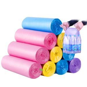 顺洁 垃圾袋 抽绳式2卷30只(41*43cm)颜色混搭¥3.9