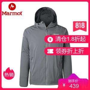 marmot土拨鼠新款夏季户外经典神衣超薄透气男士皮肤防晒衣风衣外套_399元