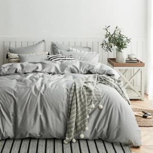 DAPU大朴60支纯棉缎纹被套1.8米床220*240cm 低至179.4元/件(3件7折、用券)