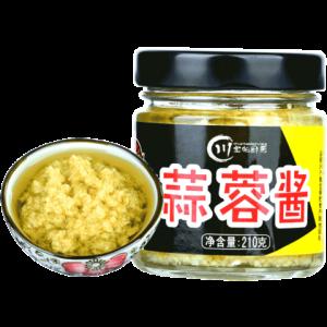 川宝的厨房蒜蓉酱210g9.9元包邮(需用券)