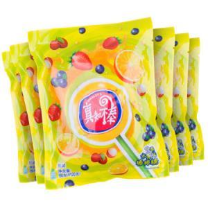 真知棒什锦水果味棒棒糖零食约240支聚会分享装 69元