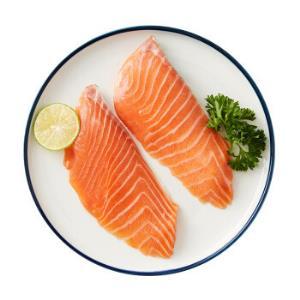 美威智利原味三文鱼排(大西洋鲑)150g2片*5件 79元(双重优惠)
