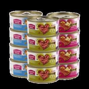 麦富迪猫咪恋水煮型猫罐头猫湿粮多口味猫零食170g*12罐*2件57元(合28.5元/件)