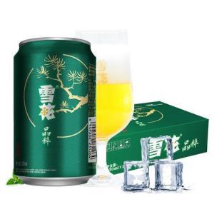雪花啤酒(Snowbeer)8度晶粹330ml*24听(清爽升级版)整箱装*3件+凑单品90.65元(需用券,合30.22元/件)